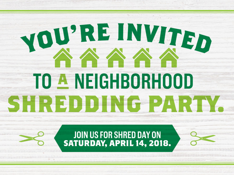 Shred Day 2018 – Country Bank