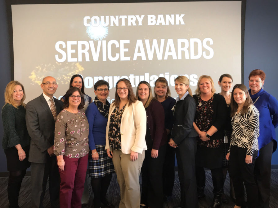 Country Bank Service Awards