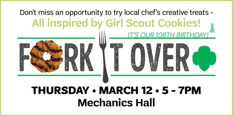 Fork It Over Event Flyer