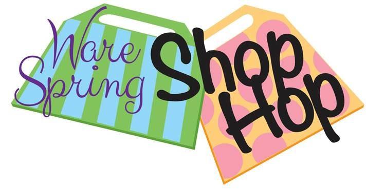 Ware Spring Shop Hop promo